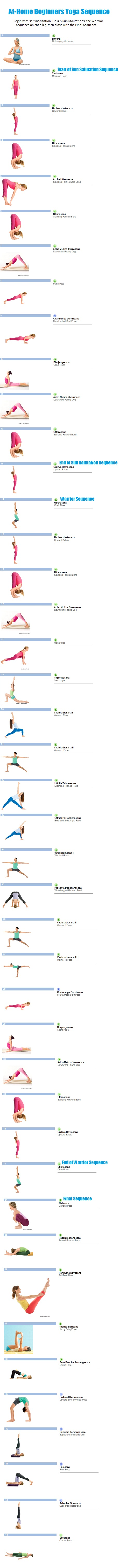 Beginniner's Yoga Sequence