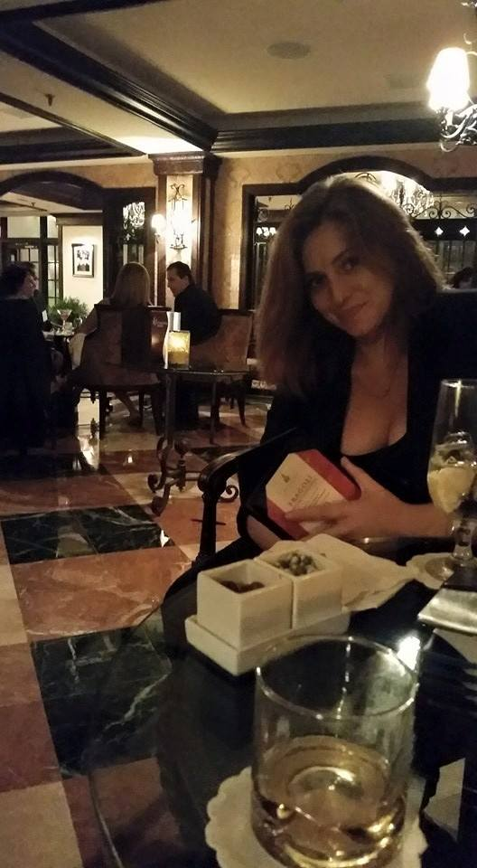 Drinks at the Biltmore... and TJ wrote a post where he called me the love of his life and I almost cried.