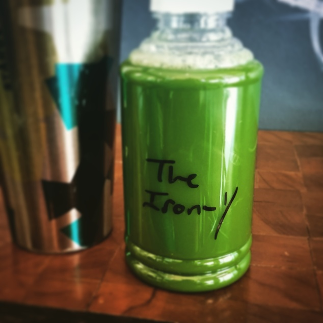 The Iron-y from Totes Juices in Sherman Oaks